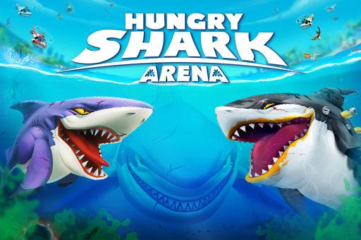 Hra - Hungry Shark Arena
