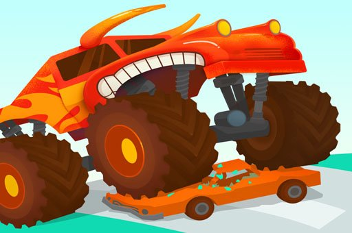 Hra - Monster Truck: Forest Delivery