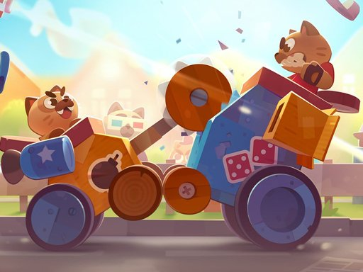 Hra - CATS: Crash Arena Turbo Stars