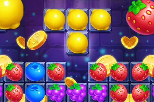Hra - Fruit Match4 Puzzle
