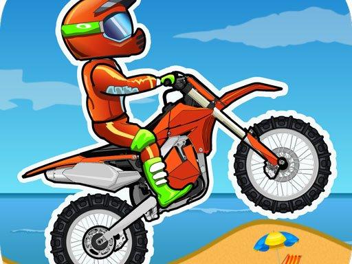 Hra - Moto X3M Bike Race Game - Race
