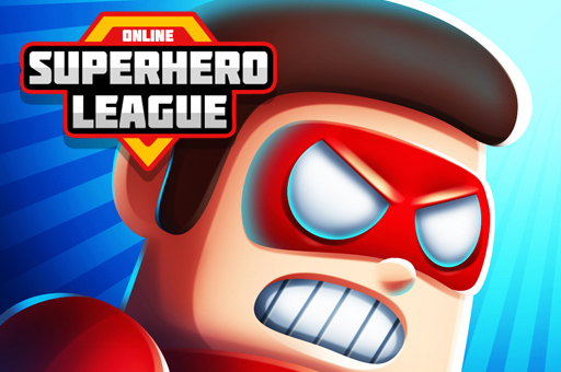Hra - Super Hero League Online